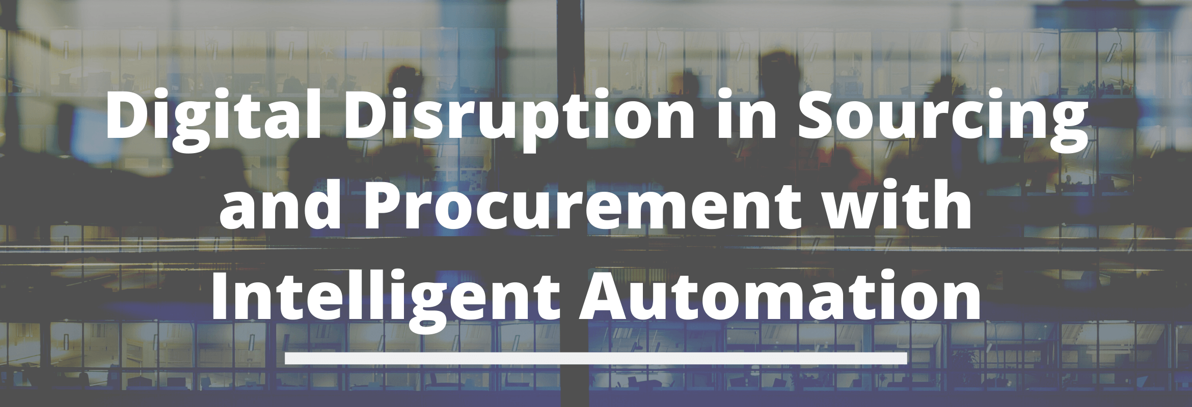 Intelligent automation in procurement