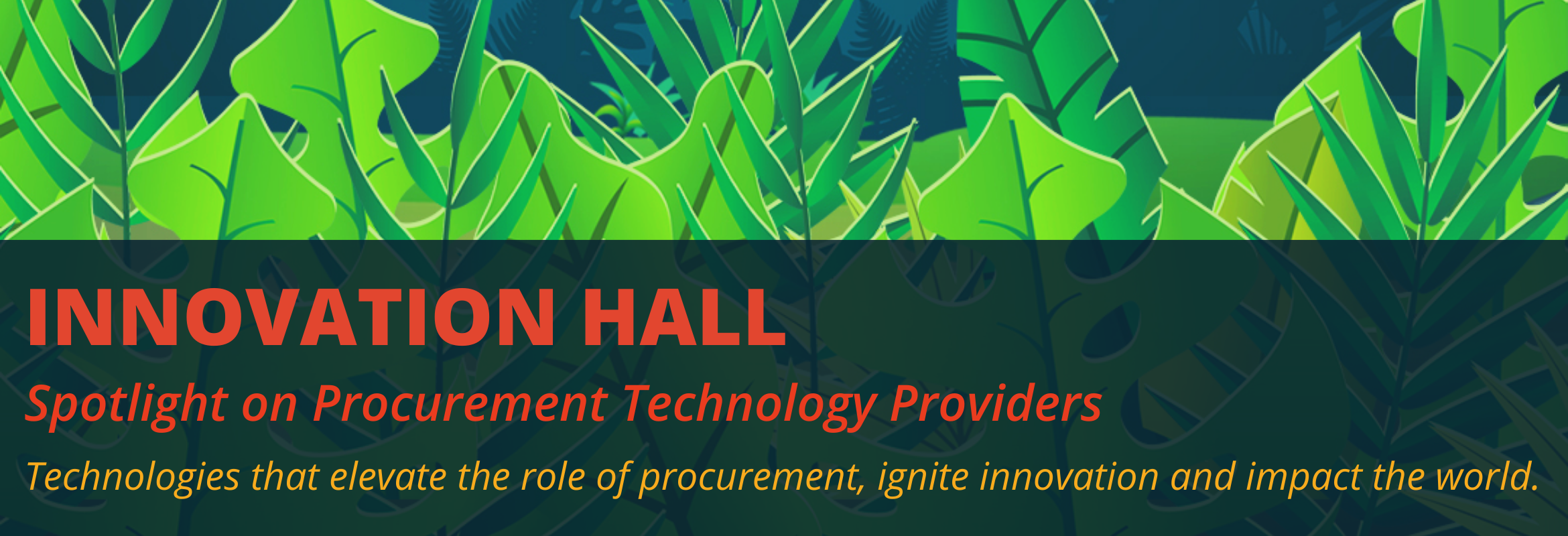 Procurement providers at the SIG Procurement Technology Summit