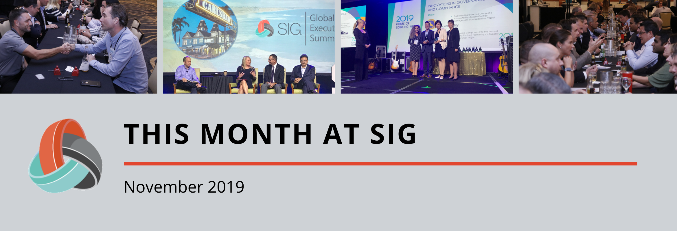 A roundup of SIG content in November.