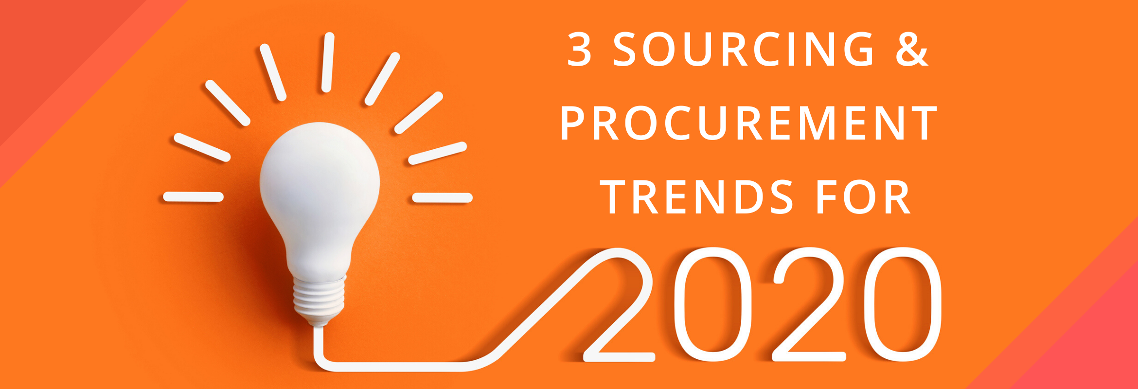 SIG's CEO and President Dawn Tiura shares her thoughts on the sourcing and procurement trends that she predicts will move the needle for our profession in the next year.
