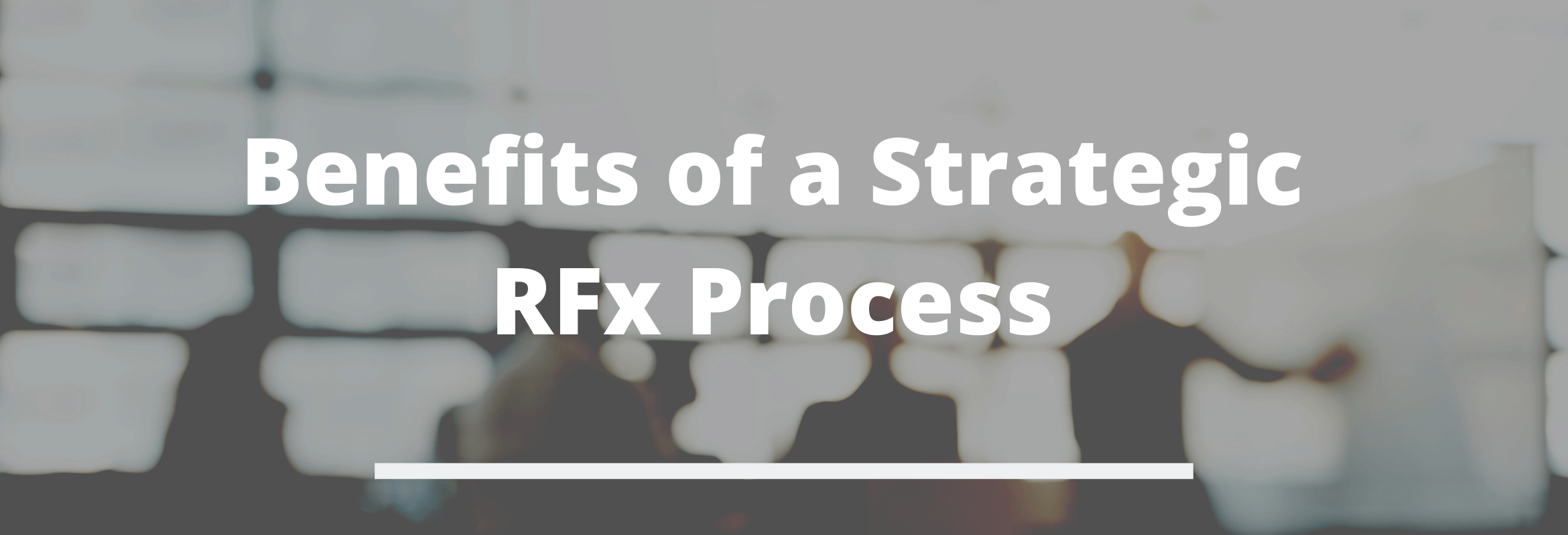 RFx is a term used to describe multiple types of requests.