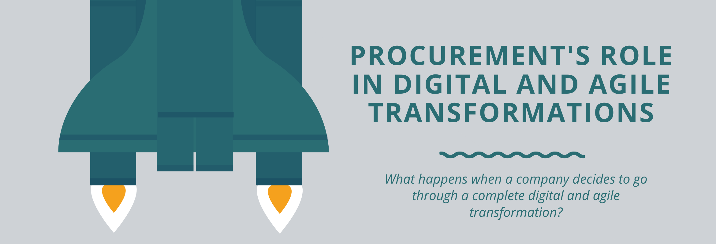 Procurement digital and agile transformation