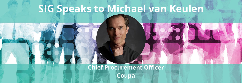 Michael van Keulen is the Chief Procurement Officer of Coupa