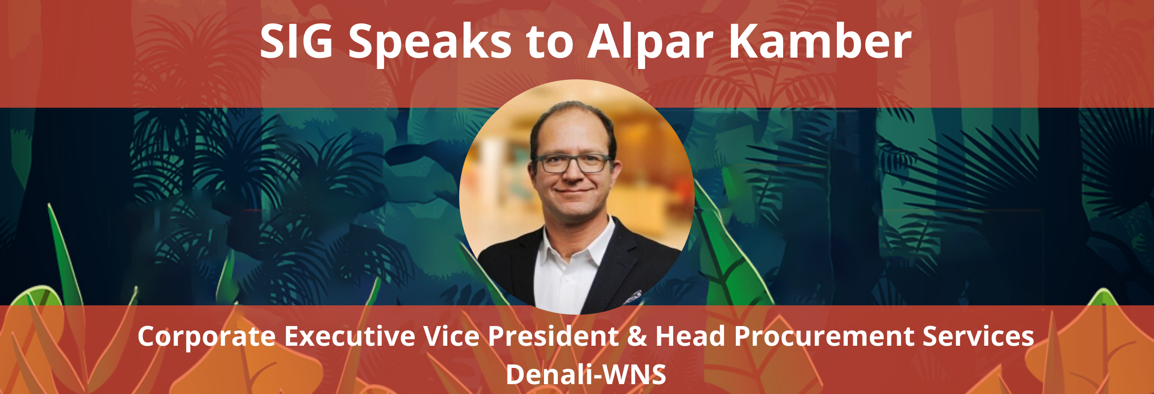 Alpar Kamber is the Head of Procurement Services at WNS